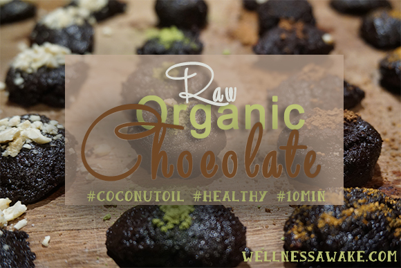 Easy Healthy Raw Chocolate