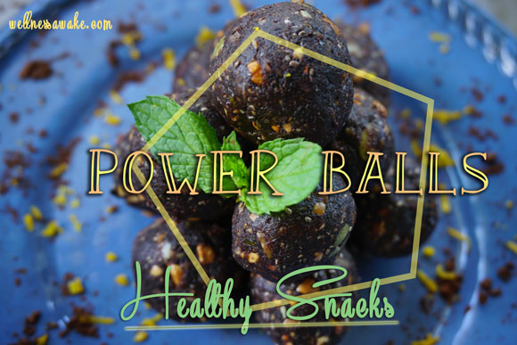 Power Balls – The Easiest Healthy Snack