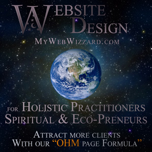 Website Design for Holistic Therapists, Natural Medicine, Spiritual and Eco-Preneurs.